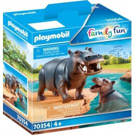 Playmobil® 70354 Flußpferd mit Baby