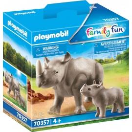 Playmobil® 70357 Nashorn mit Baby