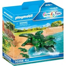 Playmobil® 70358 Alligator mit Babys