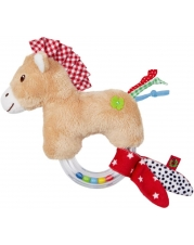 Die Spiegelburg - Baby Glück - Ringrassel Pferdchen