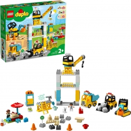 LEGO® DUPLO® 10933 - Große Baustelle mit Licht und Ton