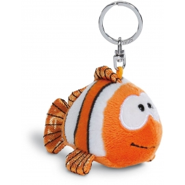NICI - Summer - Clownfisch Claus-Fisch Schlüsselanhänger 10 cm BB