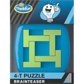 ThinkFun - 4-T Puzzle - Brainteaser mit 4 T-förmigen Teilen
