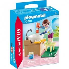 Playmobil® 70301 - Special Plus - Mädchen beim Zähneputzen