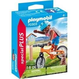 Playmobil® 70303 - Special Plus - Mountainbiker auf Bergtour