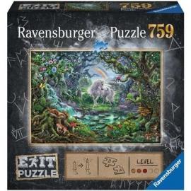 Ravensburger Spiel - Exit 9 - Das Einhorn, 759 Teile