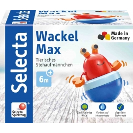 Schmidt Spiele - Selecta - Wackel Max, 13 cm