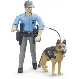 Bruder - bworld Polizist mit Hund