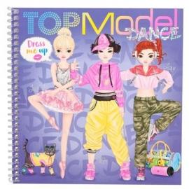 Depesche - TOPModel - Dress Me Up Stickerbuch Dance