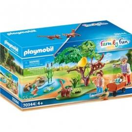 Playmobil® 70344 - Family Fun - Kleine Pandas im Freigehege