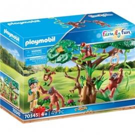 Playmobil® 70345 - Family Fun - Orang Utans im Baum