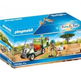 Playmobil® 70346 - Family Fun - Zoo-Tierarzt mit Fahrzeug