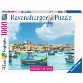 Ravensburger Spiel - Medierranean Malta, 1000 Teile