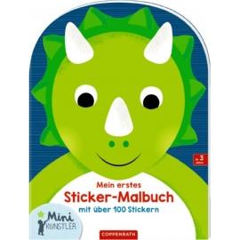 Coppenrath Verlag - Mini-Künstler - Mein erstes Sticker-Malbuch, Dinosaurier
