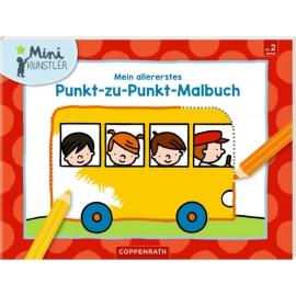 Coppenrath Verlag - Mini-Künstler - Mein allererstes Punkt-zu-Punkt-Malbuch