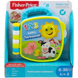 Fisher-Price - Tierfreunde Liederbuch