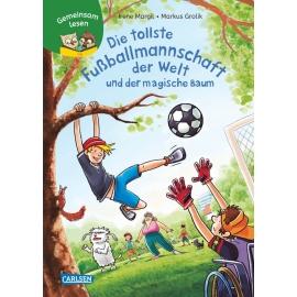 Gemeinsam lesen: Die tollste Fußballmannschaft der Welt und der magische Baum. Ab 6 Jahre.