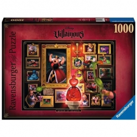 Ravensburger Spiel - Disney™ Villainous -Queen of Hearts, 1000 Teile