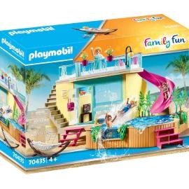 Playmobil® 70435 - Family Fun - Bungalow mit Pool