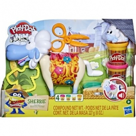 Hasbro - Play-Doh - Animal Crew Sherrie Mama Wollschaf