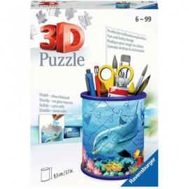 Ravensburger Spiel - 3D Puzzle - Utensilo Unterwasserwelt, 54 Teile