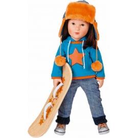 Käthe Kruse - Cool Girl Toni mit Snowboard