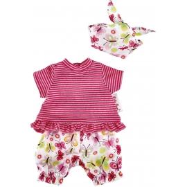 Käthe Kruse - T-Shirt mit Schmetterling Shorts 30-33 cm