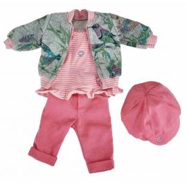 Käthe Kruse - Kindergarten Frühling Outfit 39-41 cm