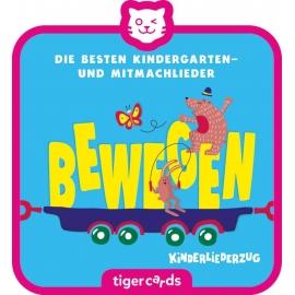 tigercard - Kinderliederzug - Folge 2: Die besten Kindergarten- und Mitmachlieder - Bewegen