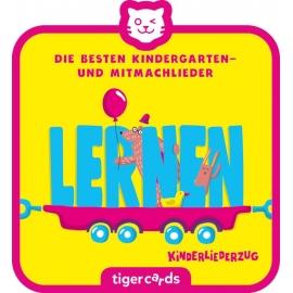 tigercard - Kinderliederzug - Folge 1: Die besten Kindergarten- und Mitmachlieder - Lernen