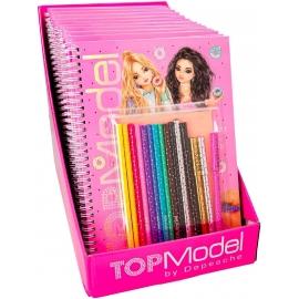 Depesche - TOPModel - Malbuch mit Stifte-Set