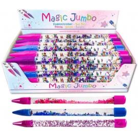 Jumbo Glitzer-Stift