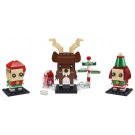 LEGO® BRICK HEADZ 40353 Rentier und Elfen