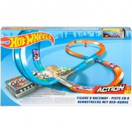 Mattel - Hot Wheels® Track Builder System Rennstrecke mit 8er Kurve