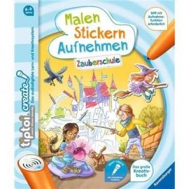 Ravensburger Buch - tiptoi - tiptoi Create Malen Stickern Aufnehmen - Zauberschule