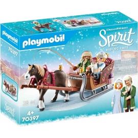 Playmobil® 70397 - Spirit - Riding Free - Winterliche Schlittenfahrt