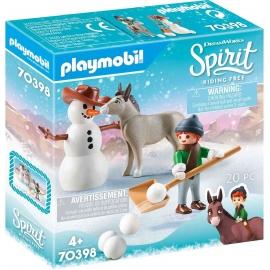 Playmobil® 70398 - Spirit - Riding Free - Schneespaß mit Snips & Herrn Karotte