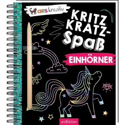 Kritzkratz-Spaß Einhörner