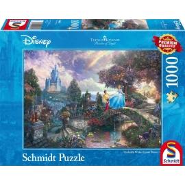 Schmidt Spiele - Puzzle - Disney™ Cinderella, 1000 Teile