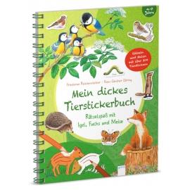 Reichenstetter, Friederun/Döring, Hans-Günther: Mein dickes Tierstickerbuch  Rätselspaß mit Igel, Fu