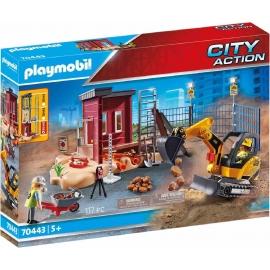 Playmobil® 70443 - City Action - Minibagger mit Bauteil