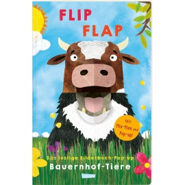 FLIP FLAP Das lustige Bilderbuch-Pop-up Bauernhoftiere