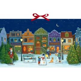 Adventszeit ist die schönste Zeit, Wand-Adventskalender
