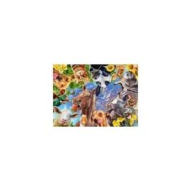 Ravensburger 12902 Puzzle Lustige Bauernhoftiere