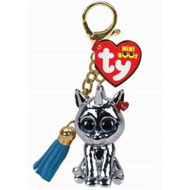 Ty - Silver Unicorn Mini Boo Clip