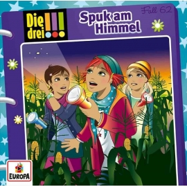 Europa - CD Die Drei !!! - Spuk am Himmel, Folge 62