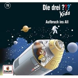 Europa - CD Die drei ??? Kids Aufbruch ins All, Folge 70