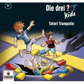 Europa - CD Die Drei ??? Kids - Tatort Trampolin, Folge 71