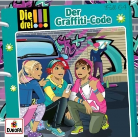 Europa - CD Die Drei !!! - Der Graffiti-Code, Folge 64