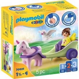 Playmobil® 70401 - 1.2.3 - Einhornkutsche mit Fee